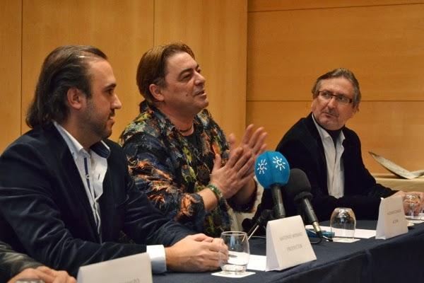 """Antonio Canales y Sebastián Haro, parte de """"Maldita Venganza"""""""
