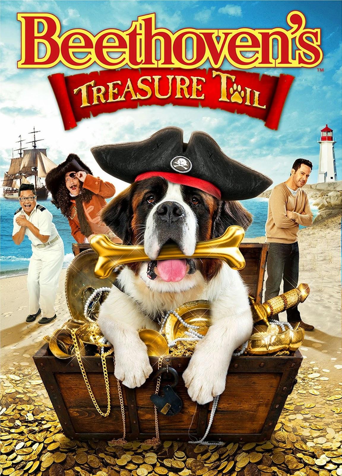 Beethoven's Treasure Tail Μπετόβεν: Το κυνήγι του θησαυρού (2014)  BRRip ταινιες online seires xrysoi greek subs