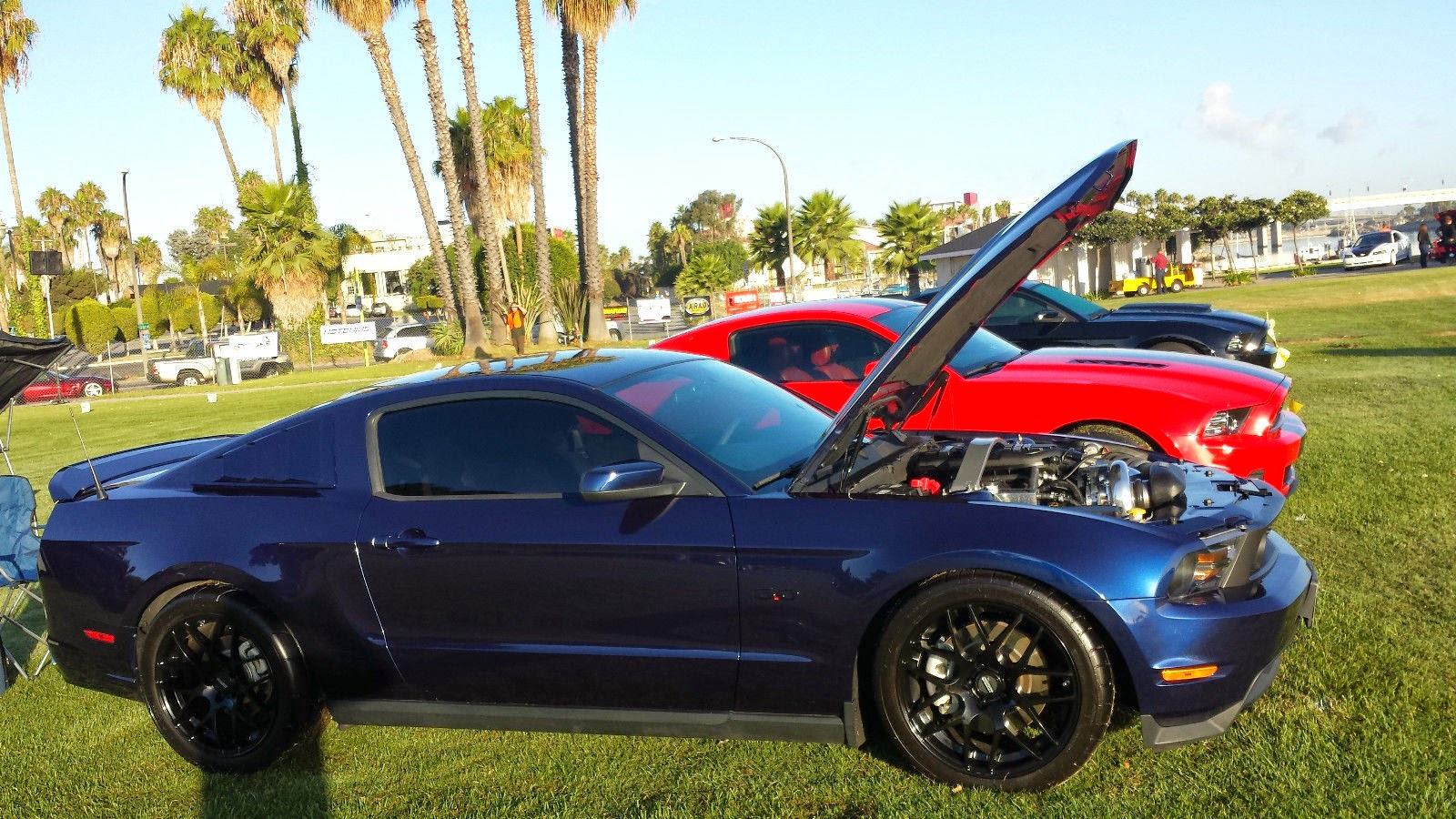 2011 ford mustang gt coupe 2 door 5 0l paxton supercharged at 692rwhp and built forged motor manhle diamond connector rods pistons jba headers x pipe