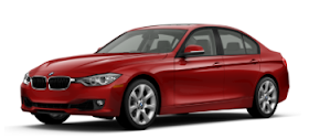 2013 BMW 335i xDrive sedan red