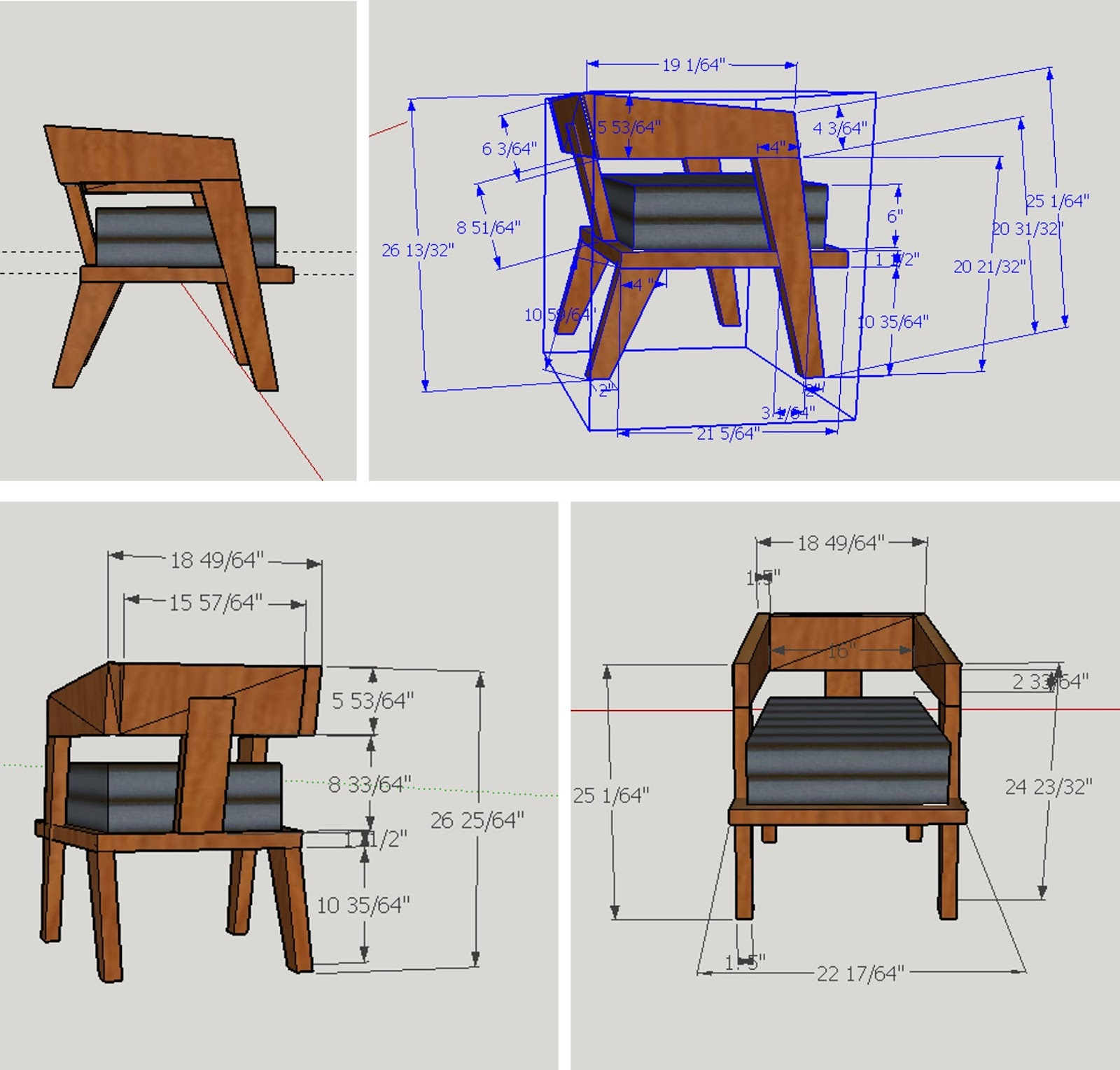 Remarkable Chair Design With Dimensions Gallery - Simple Design Home ...