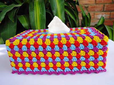 Tissue Box Covers  Pouch Cozies: {Free Patterns} : TipNut.com