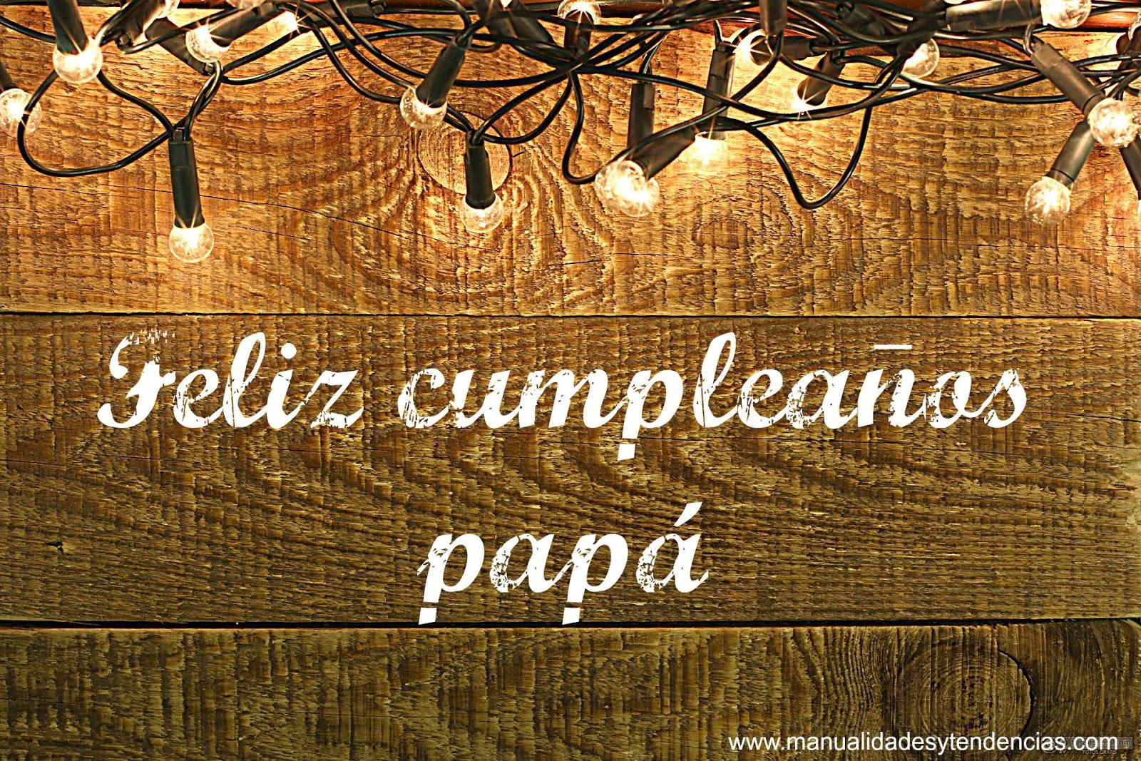 manualidades y tendencias freebies tarjeta de cumpleaños para papá