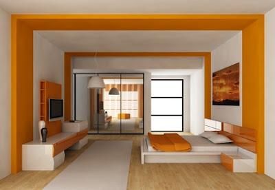 habitaciones naranjas