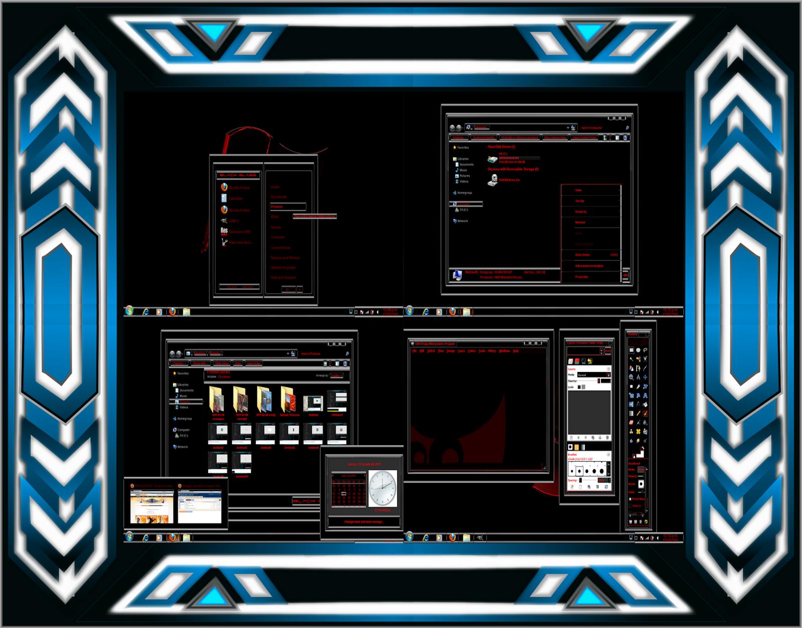 |Aporte| Temas Muy Buenos Para Windows 7