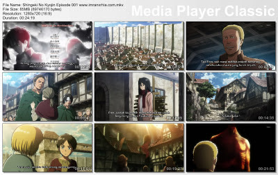 Download Film Shingeki No Kyojin Episode 001 Bahasa Indonesia