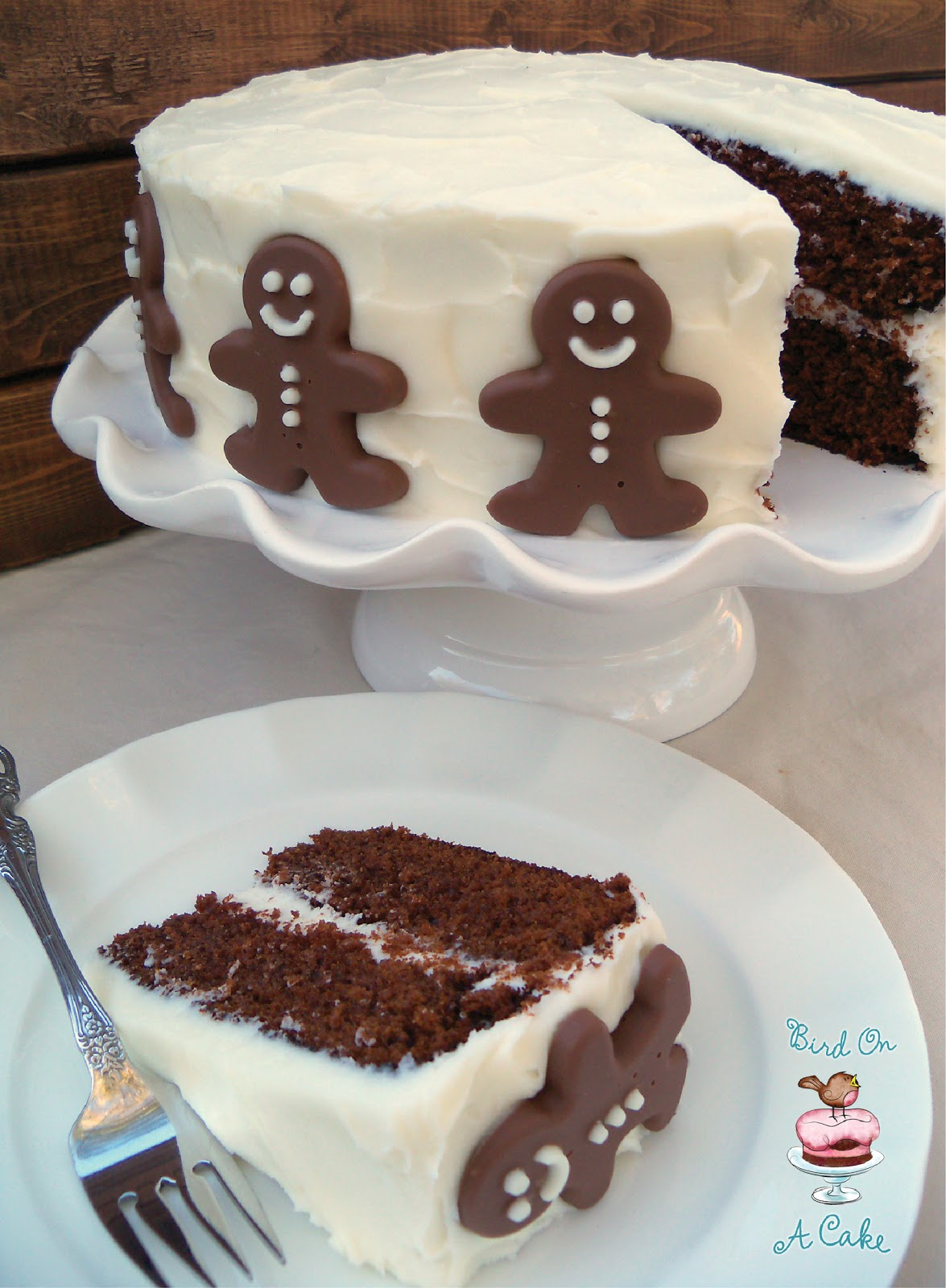 Bird On A Cake: Give the Gift of Gingerbread - Blog Hop & Giveaway!