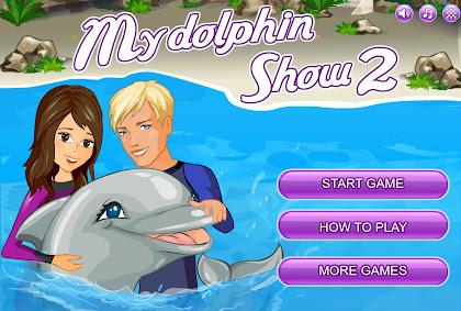 Meu golfinho show!