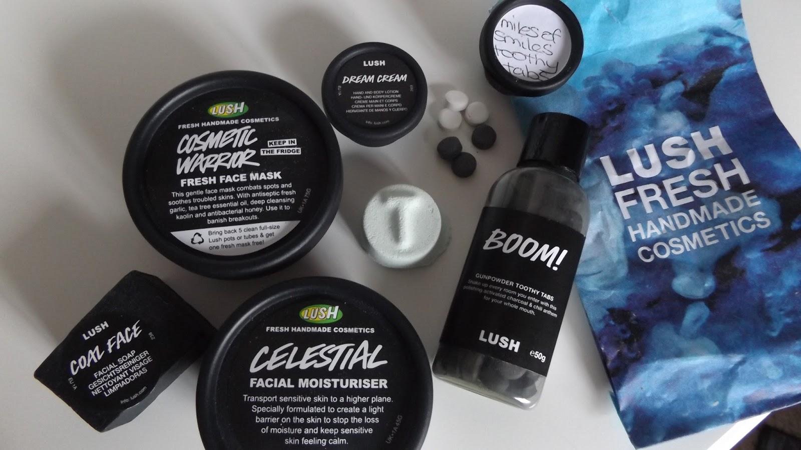 aimeesuexo lush haul and samples