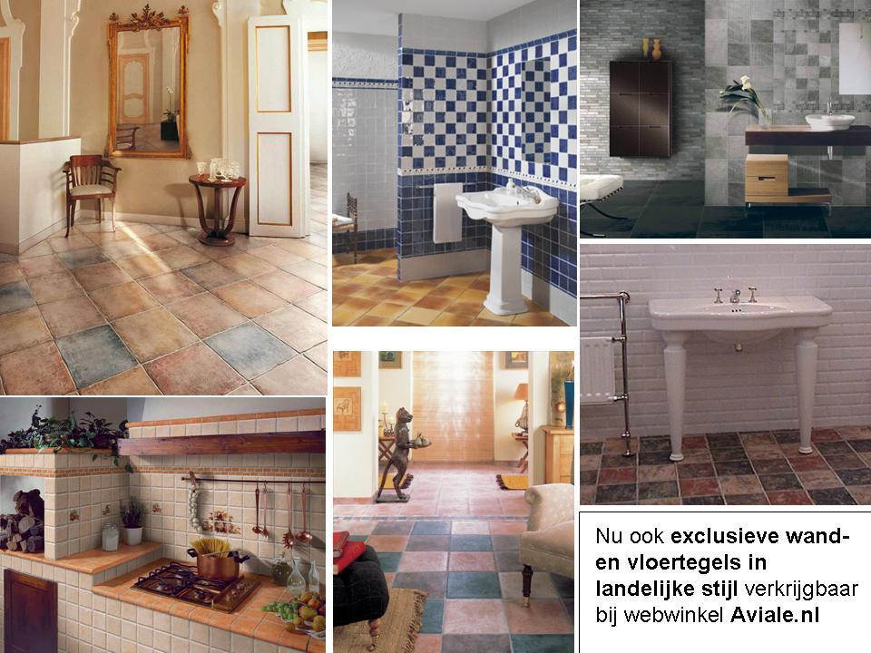 Vloertegels Keuken Landelijk : : Exclusieve wand- en vloertegels in landelijke stijl bij Aviale.nl