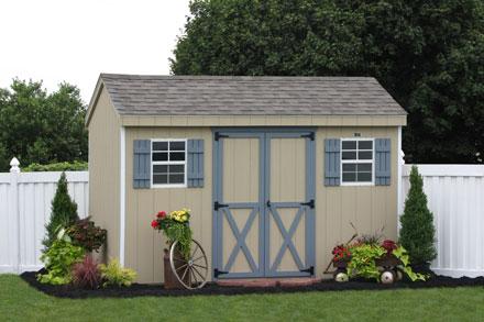 Diy small tool shed custom built storage buildings metal for Custom storage sheds