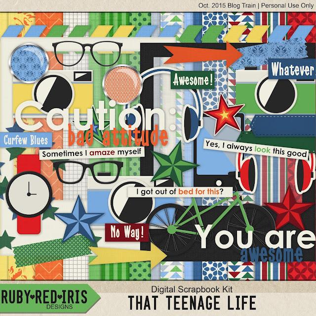Free scrapbook That teenage life