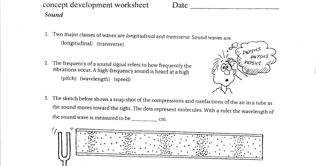 100 sound worksheet physics sound physics the difference between sound and noise science. Black Bedroom Furniture Sets. Home Design Ideas