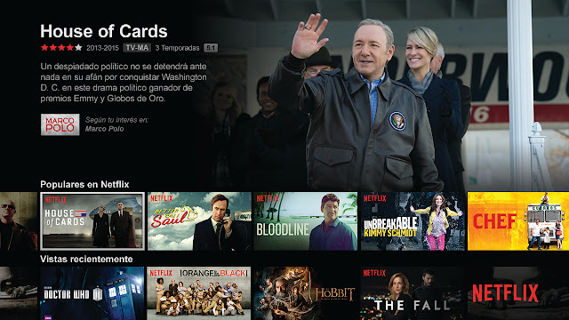 netflix screen capture house of cards