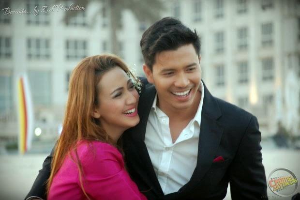 8 Foto Aksi Romantik Fathia & Fattah Di Kuwait, info, terkini, hiburan, sensasi, gosip, kontroversi, fathia latiff, fattah amin