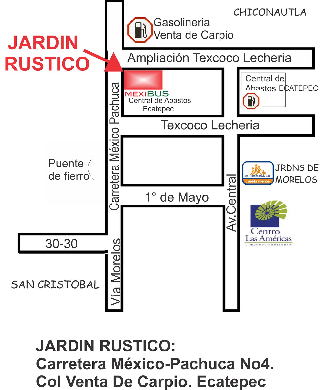 Punk en m xico 16 04 2016 ecatepunk kon el pu o alto for Jardin 7 hermanos ecatepec