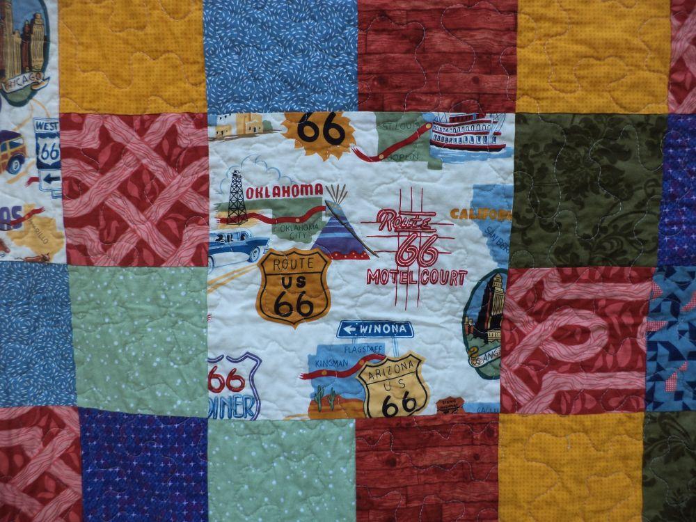 Kat & Cat Quilts: Historic Route 66 Quilt : route 66 quilt pattern - Adamdwight.com