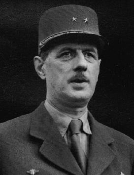 General CHARLES DE GAULLE (Lille 22/11/1890 – 09/11/1970)