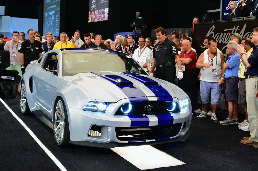 NFS Mustang Auction