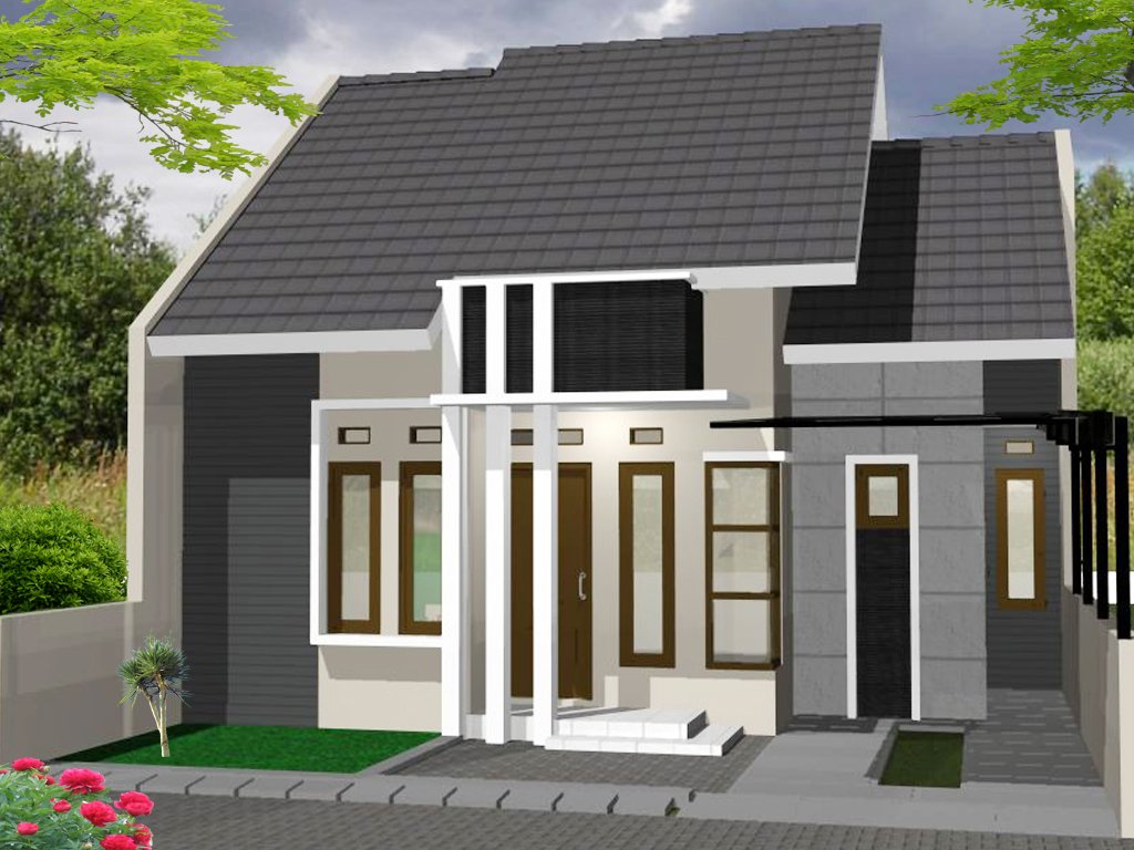 Desain Rumah Minimalis Kecil Sederhana