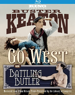 "Blu-ray Review | ""Go West/Battling Butler"""