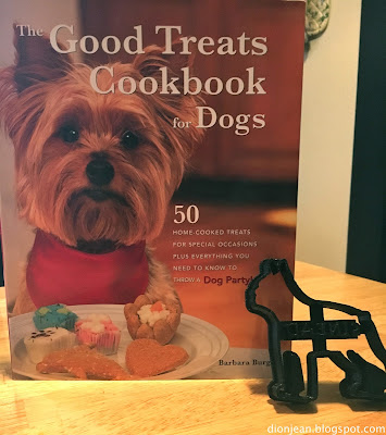 Dog cookbook and dog treat cutter