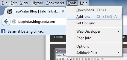 tools add-ons http://taupintar.blogspot.com