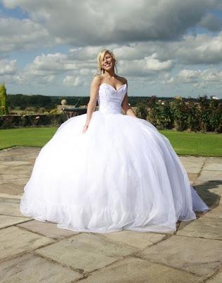 Big Fat Gypsy Wedding Dresses Designs | Wedding dresses, simple ...