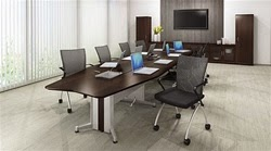 Mayline TransAction Series Powered Conference Table