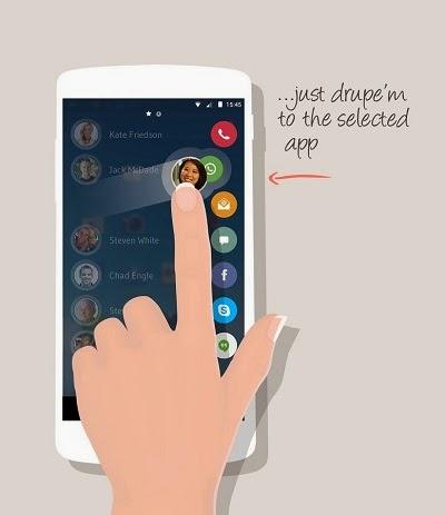 YoAndroideo.com: Drupe: Tus contactos siempre a mano para WhatsApp, Facebook, Email...