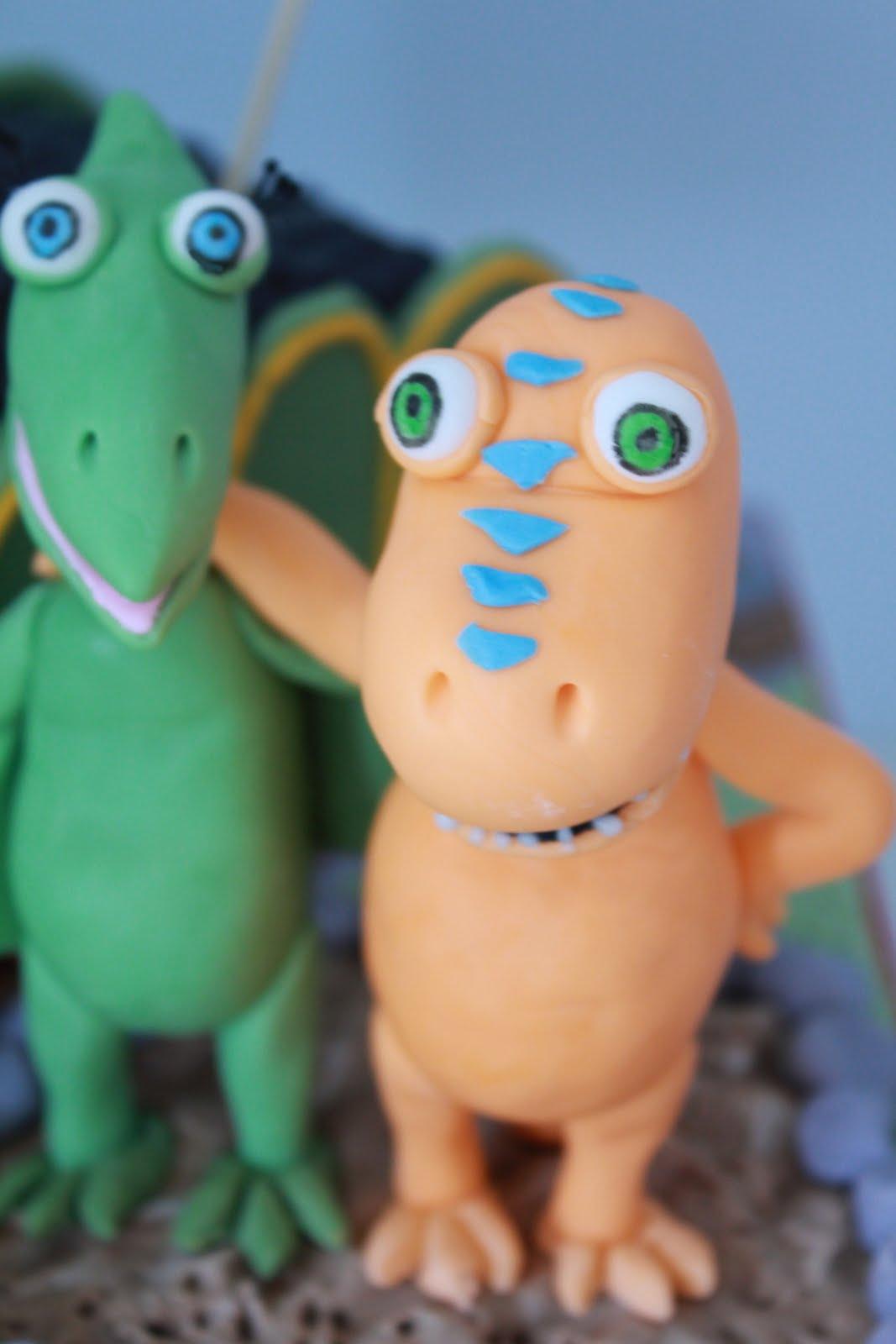 Blissfully Sweet: Dinosaur Train Birthday Cake