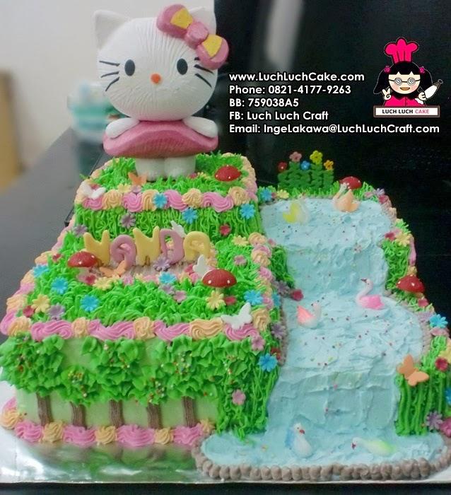 Kue Tart Hello Kitty Ulang Tahun Daerah Surabaya - Sidoarjo
