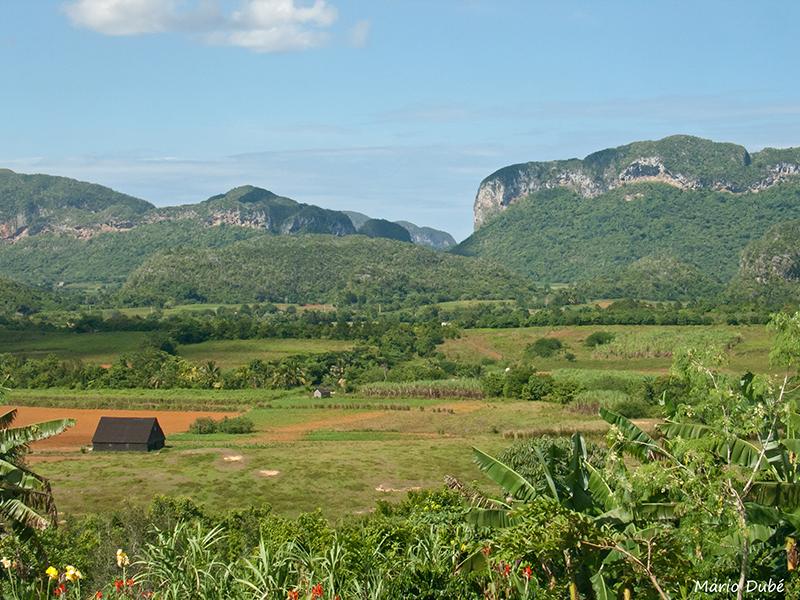 Paysage de la vallée de Vinales