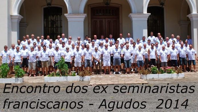 ENCONTRO DE EX-SEMINARISTAS FRANCISCANOS EM AGUDOS - SP