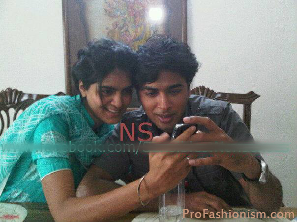 Shehzad roy with wife salma pictures