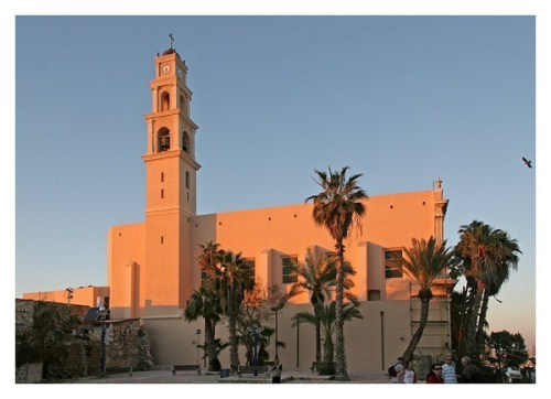 Jaffa - a city of legends and biblical stories, every morning, greeting the Mediterranean Sea