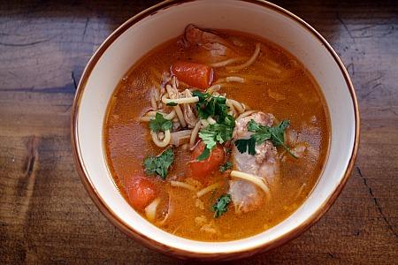 Cuban Chicken Soup Sopa De Pollo