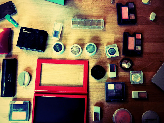 z palette smirk make up yves rocher PL3 Isadora Obsessive Compulsive Cosmetics