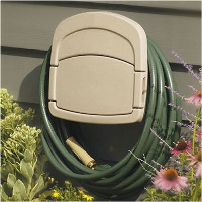 Hose Reel Outdoor Hidden Camera With Motion Activation