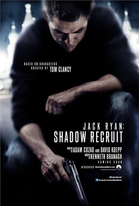 ชมคริส ไพน์แสดงเป็น แจ็ค ไรอัน สายลับไร้เงา ในตัวอย่างแรก Jack Ryan: Shadow Recruit (ซับไทย)
