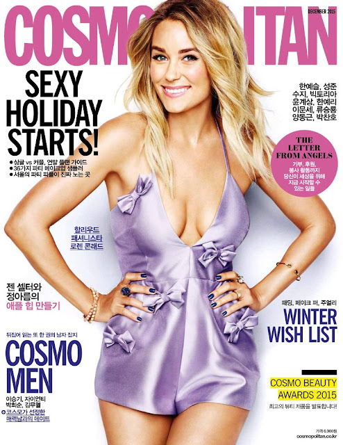 Actress , Fashion Designer, @ Lauren Conrad - Cosmopolitan Korea, December 2015