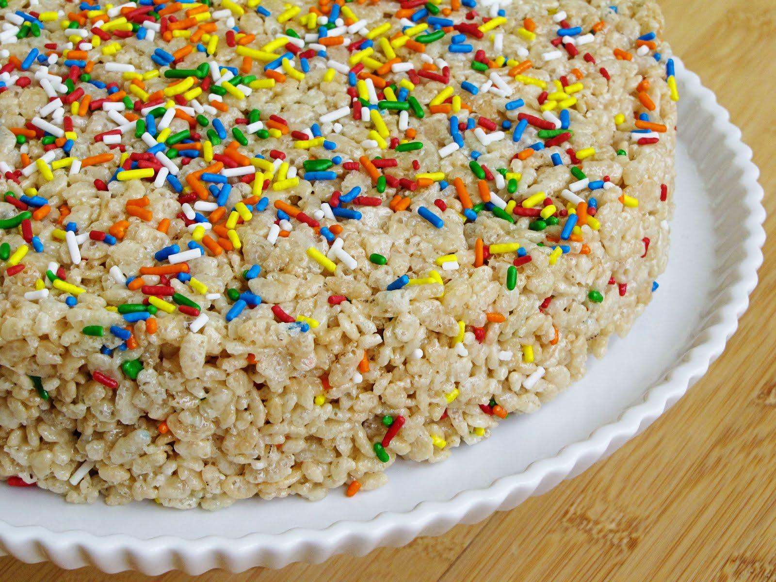 cake batter rice krispie treats Sweet Annas