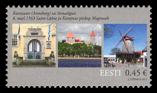 450th ANNIVERSARY THE CITY OF KURESSAARE - www.post.ee