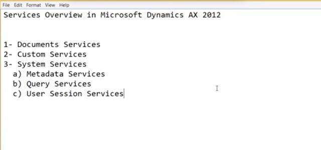 AX services
