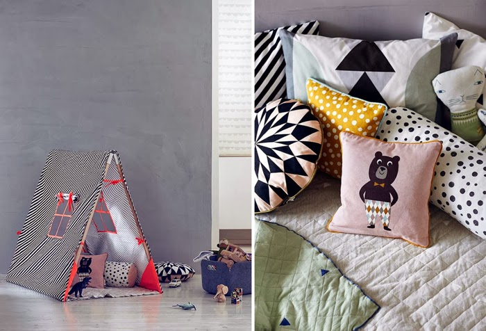 ferm living - kids collection - pillows - tent