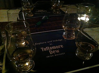 Stitch and Bear - Samples of Tullamore Dew at L. Mulligan Grocer