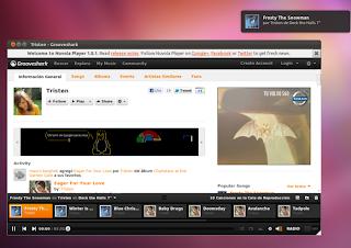 Escucha tu música favorita con Nuvola Player, Grooveshark en Ubuntu, Google Music en Ubuntu