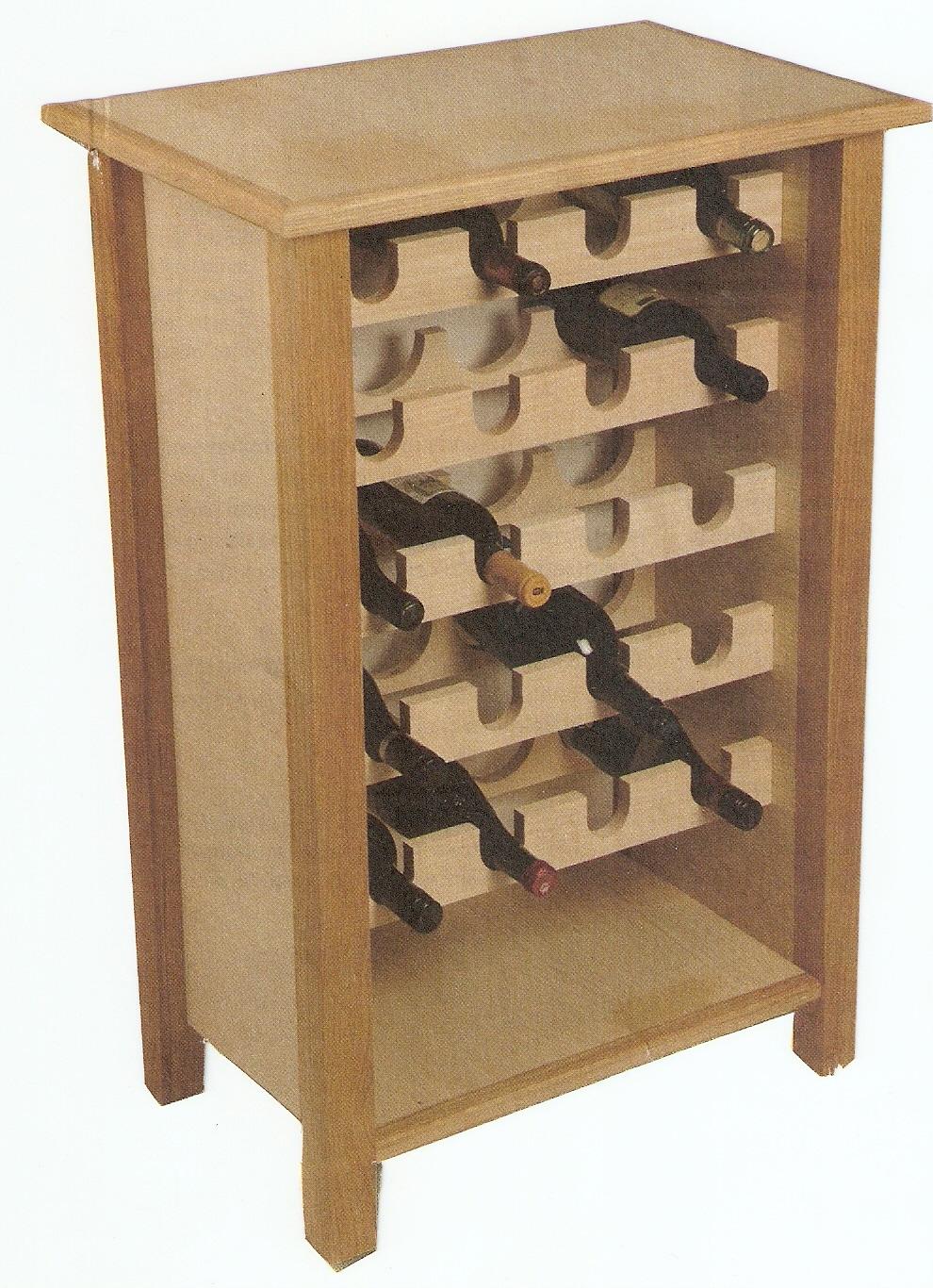 Lavori creativi fai da te l 39 hobby sul web come realizzare un portabottiglie per vino in legno - Portabottiglie di vino in legno ...