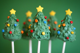 Delicious Christmas Cake Pops