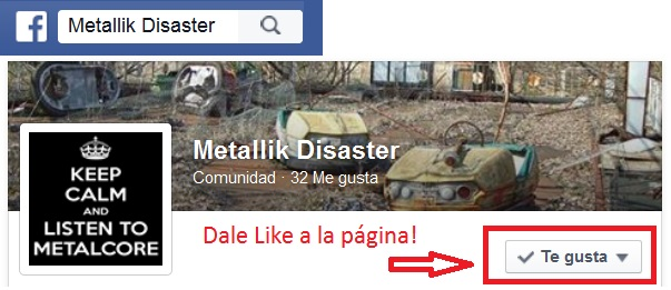 Facebook Metallik Disaster